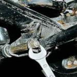 Замена задних амортизаторов ВАЗ 2107, снятие и установка