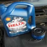 Инструкция по замене моторного масла в двигателе Лада Калина